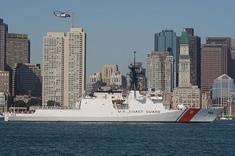 USCGC James (WMSL-754) - Image: USCGC Joshua James 01