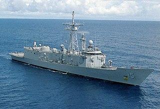 USS <i>Estocin</i> Oliver Hazard Perry-class frigate