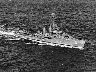USS Farragut (DD-348) - Farragut in December 1943.