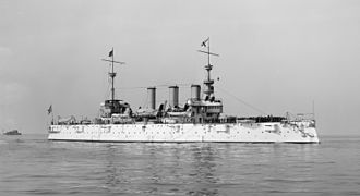 USS New York (ACR-2) - USS New York c. 1899