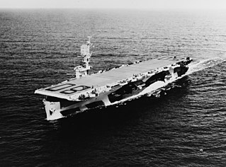 USS <i>Petrof Bay</i> Casablanca-class escort carrier of the U.S. Navy