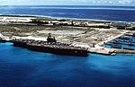 USS Saratoga (CV-60) at Diego Garcia in 1987.JPEG