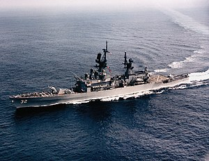 USS William H. Standley (CG-32) underway off San Diego, California (USA), circa in February 1985 (6640039)