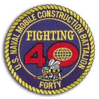 Naval Mobile Construction Battalion 40