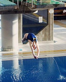 US Navy 031205-N-2306S-002 Ensign Megan Barnett completes a dive