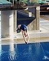 US Navy 031205-N-2306S-002 Ensign Megan Barnett completes a dive.jpg