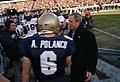 US Navy 041204-N-2383B-173 President Bush meets with the Naval Academy football team.jpg