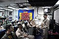 US Navy 090817-N-4995K-081 Vice Adm. Bill Gortney, Commander, U.S. Naval Forces Central Command, speaks to pilots from Strike Fighter Squadron (VFA) 113.jpg
