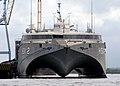 US Navy 100615-N-4971L-265 High Speed Vessel Swift (HSV 2) is moored in Corinto, Nicaragua.jpg