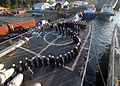 US Navy 110613-N-ZI300-016 More than 100 Chilean navy recruits, called grumetes, board the guided-missile frigate USS Boone (FFG 28) for a tour.jpg