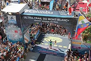 Ultra-Trail du Mont-Blanc 168 km trail run around Mont Blanc