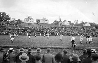 Ullevaal Stadion - The stadium in 1935