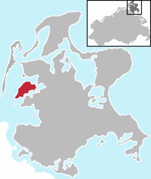 Ummanz - Image: Ummanz bei Rügen