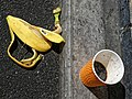 Unbinned litter at Sainsbury's, Chingford, London, England 2.jpg