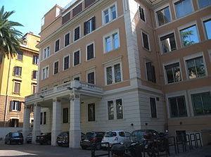 Marconi University - Marconi University, Building Via Paolo Emilio