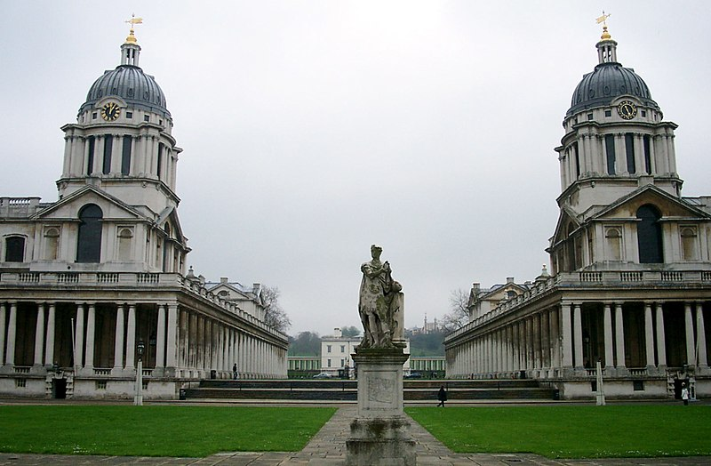 Archivo:United Kingdom - England - London - Greenwich - Old Royal Naval College.jpg