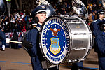 United States Air Force Band passes presidential reviewing stand 130121-Z-QU230-343.jpg