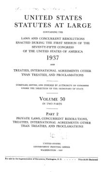 United States Statutes at Large Volume 50 Part 2.djvu