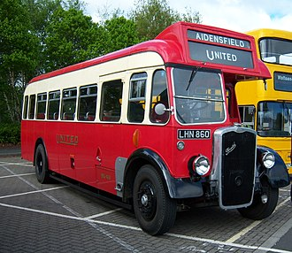 United Automobile Services - Preserved Bristol L5G in May 2009