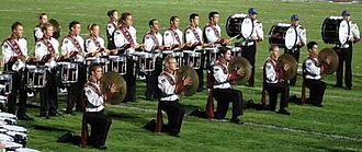 University of Massachusetts Minuteman Marching Band - The UMass Drumline