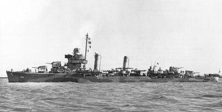 USS <i>Grayson</i> (DD-435) Gleaves-class destroyer