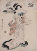 Utagawa TOYOKUNI, Acteur dans un rôle de femme, fin XVIIIe.png