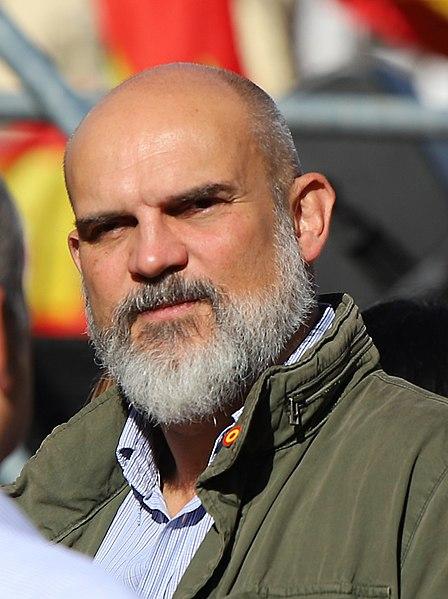 """Victor Manuel Sánchez del Real, supuesto contacto de """"El Francés"""" con Vox. Autor: Thomas Holbach, 26/10/2019. Fuente: Wikimedia Commons (CC BY-SA 4.0.)"""