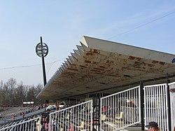 Všesportovní stadion - East Grandstand.JPG