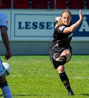 Anna Anvegård Swedish association football player