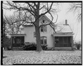 VIEW OF EAST SIDE - Conrad Fox, Jr. House, 3500 Rapids Court, Mount Pleasant, Racine County, WI HABS WIS,51-MTPLE,1-3.tif