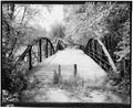 VIEW OF ELEVATION, LOOKING WEST - McGilvray Road Bridge No. 1, Van Loon Wildlife Area, La Crosse, La Crosse County, WI HAER WIS,32-LACR.V,1-1.tif