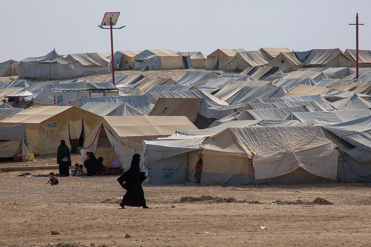 VOA in Al-Hol Camp, Syria, 17 October 2019.jpg