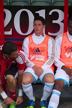 Laurent Abergel - Image: Valais Cup 2013 OM FC Porto 13 07 2013 Laurent Abergel