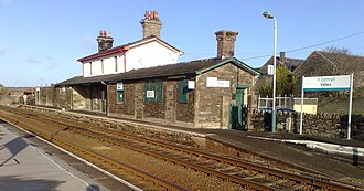 Valley railway station - Image: Valley Railway Station 2009