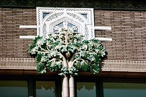 Van Allen Building - Image: Van Allen Column Capital