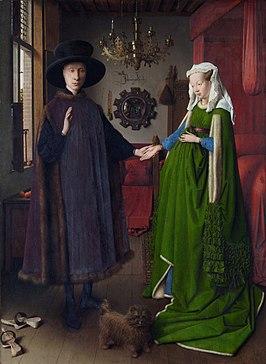 Afbeeldingsresultaat voor Portret van Giovanni Arnolfini en zijn vrouw