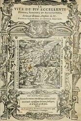 Giorgio Vasari: Le vite de' piu eccellenti pittori, scultori, et architettori