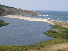 Veleka Bulgarian River Outfall