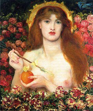 Apple (symbolism) - Venus Verticordia - Dante Gabriel Rossetti- 1866