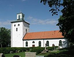 Vickleby kirke.