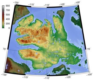 Victoria Island (Canada) - Topography of Victoria Island