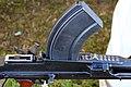 Victory Show Cosby UK 06-09-2015 WW2 re-enactment display Trade stalls Misc. militaria personal gear replicas reprod. originals collect. zaphad1 Flickr CCBY2.0 Brengun machinegun magazine etc IMG 3838.jpg