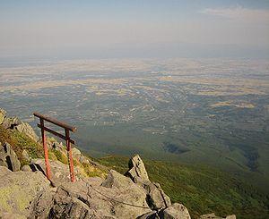 Mount Iwaki - Image: View from Mt Iwaki in Aomori Japan