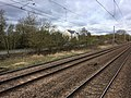 View from a Peterborough-London train - site of Abbots Ripton station (geograph 5316919).jpg