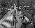 View looking East from top, Royal Bank building, Montreal, QC, 1927 (7556141074).jpg