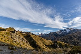 View north from Pinnacles Track, Hakatere Conservation Park, New Zealand 03.jpg