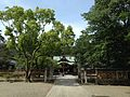 View of Haiden of Oasahiko Shrine.JPG