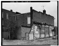 View of Rear and South Side - Thorson Block, 200 Main Street, Westby, Vernon County, WI HABS WIS,62-WEST,1-5.tif