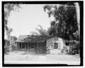 View of West front, facing east - 1741 North Shore Terrace (House), 1741 North Shore Terrace, Orlando, Orange County, FL HABS FL-534-1.tif