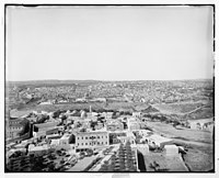 Village of Mount of Olives and Jerusalem from the tower of the Russian Church LOC matpc.06691.jpg